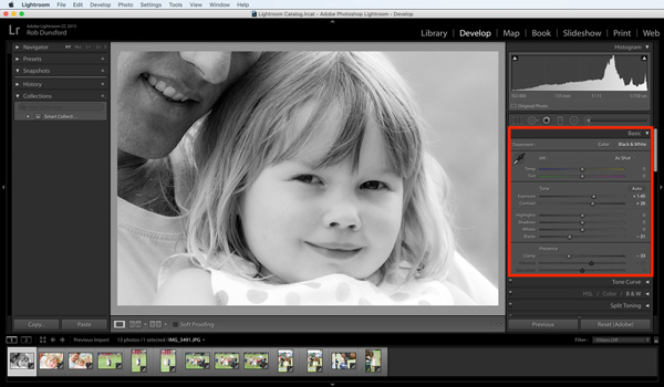 batch edit photos in lightroom develop 2